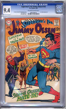 Jimmy Olsen #118 Cgc Nm 9.4 Superman Adams