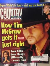Country Weekly-7/21/98 Tim McGraw Bryan White Pam Tillis Doug Stone