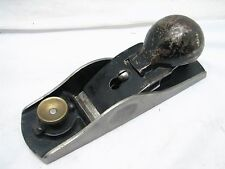 Sargent VBM 4307 Low Angle Block Plane Wood Tool w/Knuckle Cap Adjustable Mouth