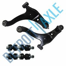 Both (2) Front Lower Control Arm w/Ball Joint Assembly Sway Bar Link PT Cruiser