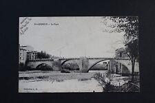 Carte Postale ancienne CPA ST AMBROIX - Le pont