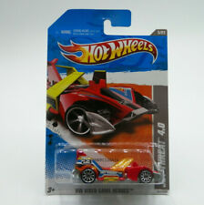 Hot Wheels HW Video Game Heroes Jet Threat 4.0 1:64 2011 New Free Shipping