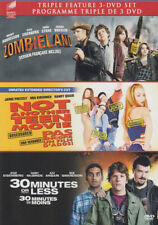 ZOMBIELAND / NOT ANOTHER TEEN MOVIE / 30 MINUTES OR LESS (TRIPLE FEATURE)  (DVD)