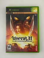Unreal II: The Awakening - Original Xbox Game - Complete & Tested