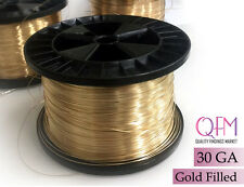 50meter (164 feet) yellow gold filled wire, 30 gauge (0.25mm) Soft