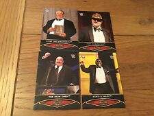 2015 Topps Road to Wrestlemania Hall Of Fame Set Of 30 Cards Chase Set