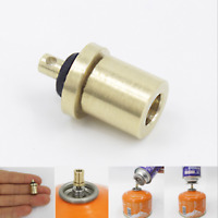 Gas Refill Adapter Filling Butane Canister Valve for Outdoor Camping Stove