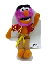 ANIMAL  The Muppets Jim Henson Plush Toy 2002 Collectible McDonalds