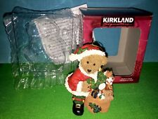 Kirkland Signature Collectible Gift Christmas Bear with Presents Ornament