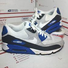 Nike Air Max 90 Anthracite White Obsidian Grey Blue Black Size 10 (325018-050)