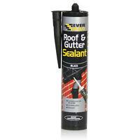Everbuild Roof & Gutter Black Home Repair General Purpose Anti Mould DIY Sealant