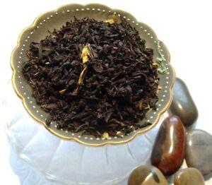 Tea Pure Strawberry Fruit Flavored Leaf Asian Black Pure & Natural Flavor