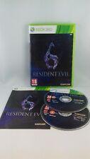 Jeu Xbox 360 Resident Evil 6 - genre : jeu de tir