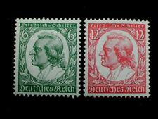 D.R., Mi. 554/55, FRIEDRICH VON SCHILLER, postfrisch,  KW 100,-