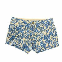 """Lilly Pulitzer The Callahan 5"""" Inseam Shorts Women's Size 4 Flat Front Casual"""