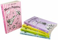 Mary Poppins 5 Books Children Collection Paperback Set By P L Travers