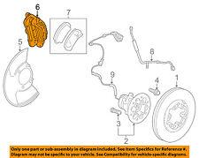 GM OEM Front Brake-Disc Caliper 21998526