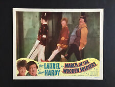 BABES IN TOYLAND '34 LAUREL AND HARDY WITH FULL SIZE TOY SOLDIER LC