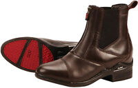 DUBLIN INTENSITY GENUINE LEATHER HORSE RIDING PADDOCK JODPHUR BOOTS DARK BROWN