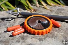 The Pocket Shot Orange Whisker Biscuit Cap for Shooting Arrow Arrow Cap USA Made
