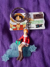 "NEW! ONE PIECE NAMI X'MAS Keyring 2""  5cm VINYL FIGURE MEGA RARE / UK DESPATCH"