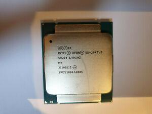 Intel xeon E5-2643V3 3.40GHZ 20 Mo 6 Core CM8064401724501
