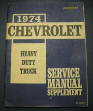 CHEVY SERVICE MANUAL 1974 70-95 SERIES TRUCK HD