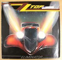 "ZZ TOP ELIMINATOR 1983 92-3774-1 12"" LP ALBUM VINYL EX+"