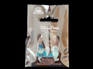 Disney Pin DLR Gus Phineas Ezra The Haunted Mansion Logo Hitchhiking Ghosts