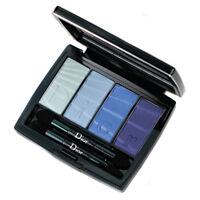 Dior Blue Eyeshadow Palette 001 Blue Colour Gradation