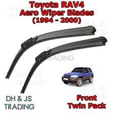 (94-00) Toyota RAV4 Aero Wiper Blades / Front Windscreen Flat Blade Wiper 4x4