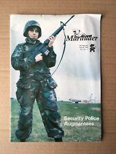 Vintage 1988 MARAUDER RAF MILDENHALL Military Base Newspaper, Forest Publishing