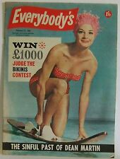Everybody's Australian magazine 63 The Phantom bikinis dean martin vintage pulp