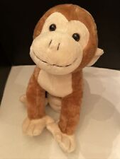 Fiesta Plush MONKEY (Standing - 16.5 inch) Stuffed Animal Toy with Curled Tail