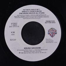 KRUSH GROOVE ALL STARS: Krush Groovin' / Same 45 (dj) Rap/Hip-Hop