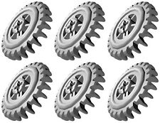 6 Lego CROWN Gears (technic,robot,mindstorms,nxt,ev3,power functions,24,car,pin)