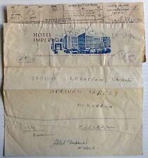India telegram - message portion pasted on 'Jordanian Legation Karachi arrived'
