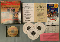 AD&D Dungeons Dragons Collector's Edition 9 VIDEO GAME SET PC Computer COMPLETE!