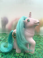 My Little Pony G1 Princess Amethyst Sparkle Vintage Toy Hasbro 1987 MLP *