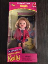 Mattel - Barbie Doll - 1998 School Time Kayla Doll *NM Box*