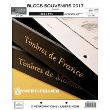 Jeux FS France blocs souvenirs 2017 sans pochettes.