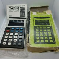 Vintage Casio Memory 8A Electronic Calculator