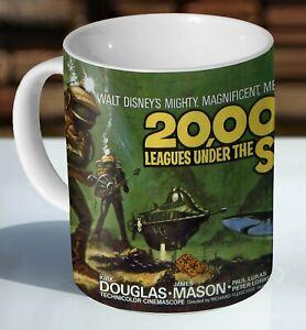 20000 Leagues Under the Sea Ceramic Coffee Mug - Cup