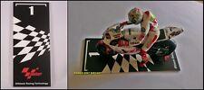 1:12 Floor Board Start Grill N1 Valentino Rossi Simoncelli Stoner to minichamps