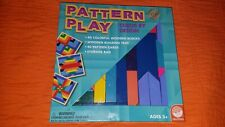 Mindware Pattern Play Colorful Wooden Blocks Color by Design New with Box Open