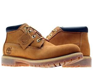 Timberland Premium Waterproof Chukka Wheat Nubuck Men's Boots 23061