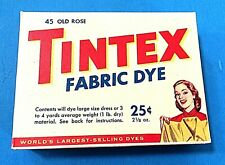 Tintex Old Rose Fabric Vintage Clothes Dye