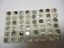 12  swarovski crystal 3/4 flatback disco balls,12mm crystal AB CAL VZ #4861