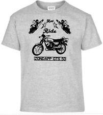 T-SHIRT, Zündapp GTS 50 , PIN-UP, MOTO, bicicleta, Oldtimer, youngtimer