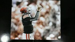 Johnny Manziel 8x10 Picture Cleveland Browns FREE SHIPPING!